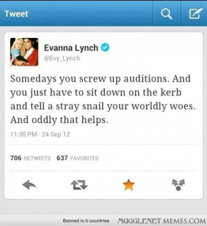 Inspirational quotes - Evanna Lynch