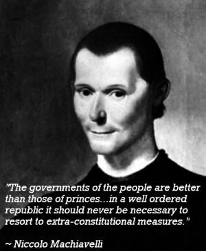 Machiavelli motivational inspirational love life quotes sayings ...