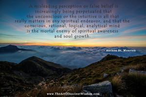 What really matters in spiritual awareness