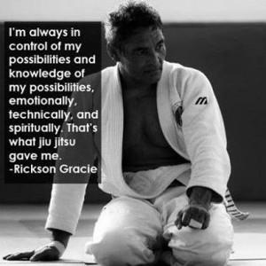 Rickson gracie