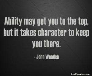 John Wooden Basketball Quotes