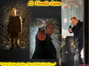 Lt. Horatio Caine CSI Miami by ScifiNutAlways1999