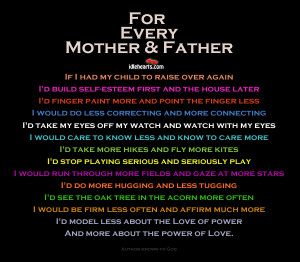 For Every Mother And Father.