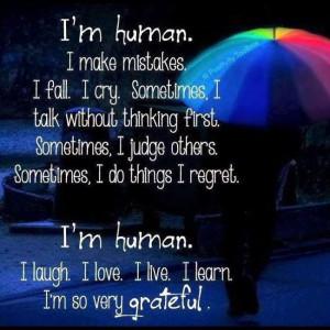 am human