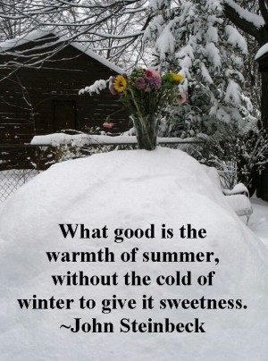 Winter, quotes, season, sayings, positive, famous