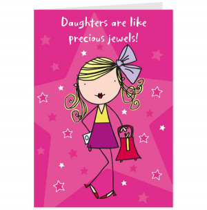 birthday card daughter funny