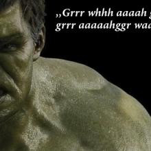 Hulk quote of the day