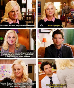 Ben and Leslie (parks and rec)