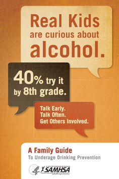 Family Guide to Underage Drinking Prevention #drinking #teens More