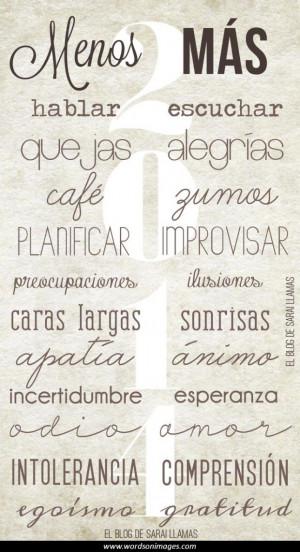 Spanish Inspirational Quotes