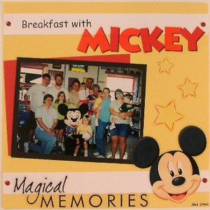Disney Vacation Scrapbooking Page Ideas. Ludens