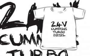 Truck Tee's › Portfolio › 24 V Cummins Turbo Diesel