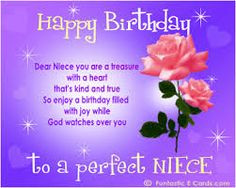 birthday quotes for niece saying for my lovely niece More