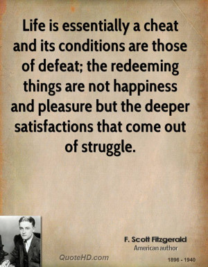 Fitzgerald Quotes About Life