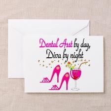 DENTAL ASSISTANT Greeting Card for
