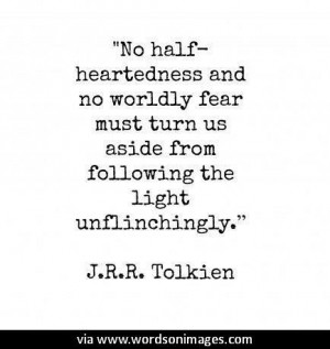 Quotes by tolkien