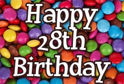 28th Birthday Wishes and Messages