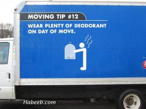 Budget.com Moving Tips Funny humour humor okokno.com