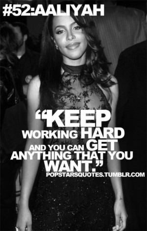 Aaliyah Quotes Aaliyah quote :)