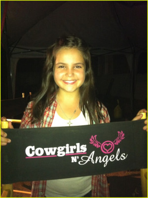 Bailee Madison Wraps 'Cowgirls 'N Angels'