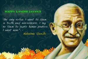 Mahatma Gandhi Quotes in English for Gandhi Jayanti