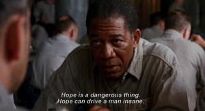 morgan freeman shawshank redemption quotes