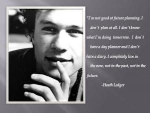 Heath ledger quotes tumblr