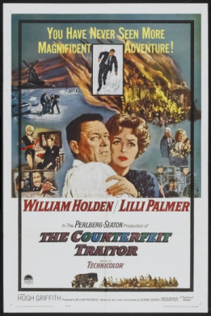 One sheet movie poster: The Counterfeit Traitor (1962) - Heritage ...