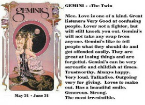Gemini - 22 May - 21 June