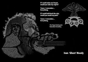 Five Finger Death Punch Typographic Illustration by Comfreak637