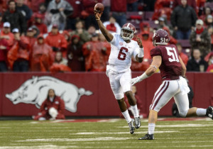 Nick Saban wants to see a 're-centered' Blake Sims when Alabama hosts ...