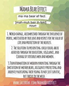 the mama bear effect defined more bears foulker momma bears kids stuff ...