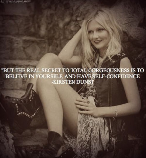 Kirsten Dunst quote