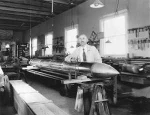 Robert Goddard today is hailed for his research and experimentation...
