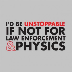 funny quotes cops and physics
