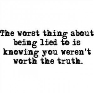 Lying quote #5