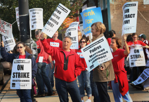 Parents And Teachers Working Together Quotes O-chicago-teachers-strike ...