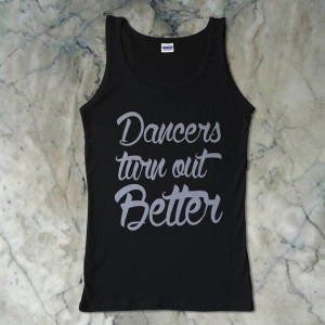 ... Turn Out Better Quotes Women's Tank Print Size by BLUOES, $18.50