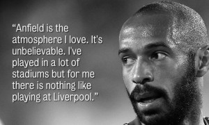 Thierry Henry on his respect for Liverpool FC