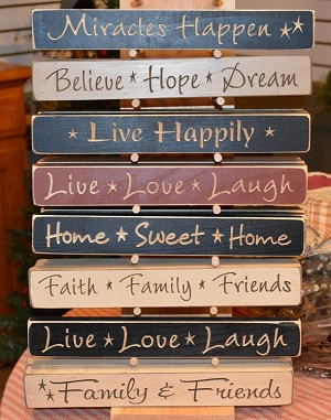 primitive signs primitive country engraved wood signs assorted sayings ...