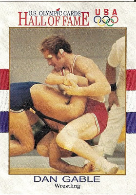1991 Impel US Olympic Hall Of Fame Dan Gable #32
