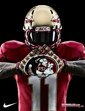 PHOTOS: New Nike gloves and shoes for Florida State in 2012
