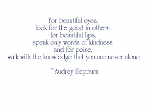 How can you not love this quote and the woman who said it? Beautiful ...