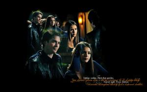 The Vampire Diaries TV Show Damon / Elena - love them together