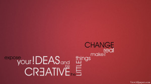 Creative Ideas Quote High Resolution Wallpaper, Free download Creative ...