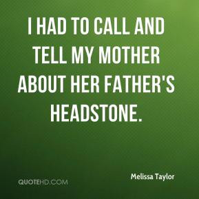 Mother Headstone Quotes