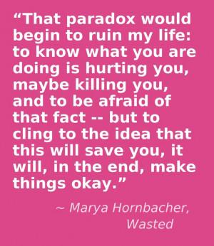 Marya Hornbacher, Wasted