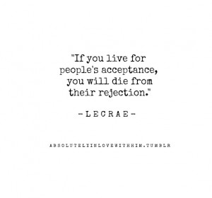 Lecrae quotes are some of the best!