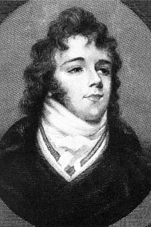 Beau Brummell, engraved in the 19th century from a portrait miniature.