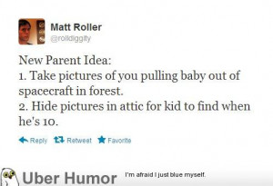 Advice For New Parents...